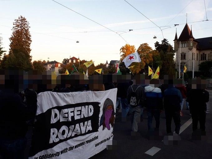 Demo Rojava wird angegriffen