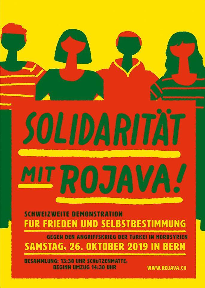 Demonstration für Frieden & Selbstbestimmung