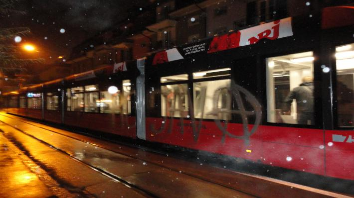 Spray Tram