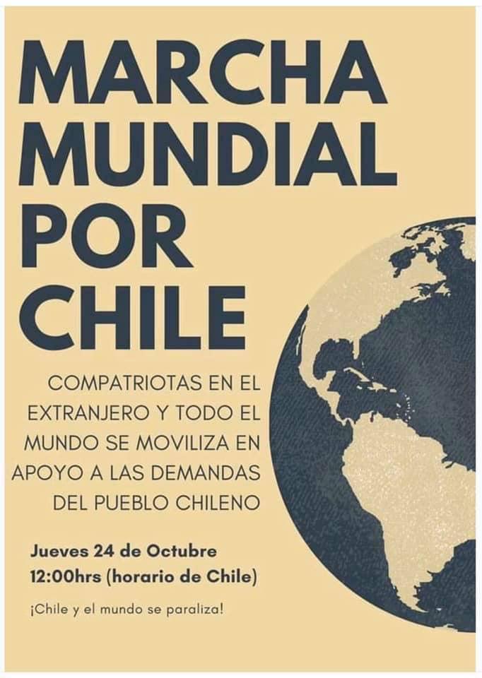 Solidarität mit Chile