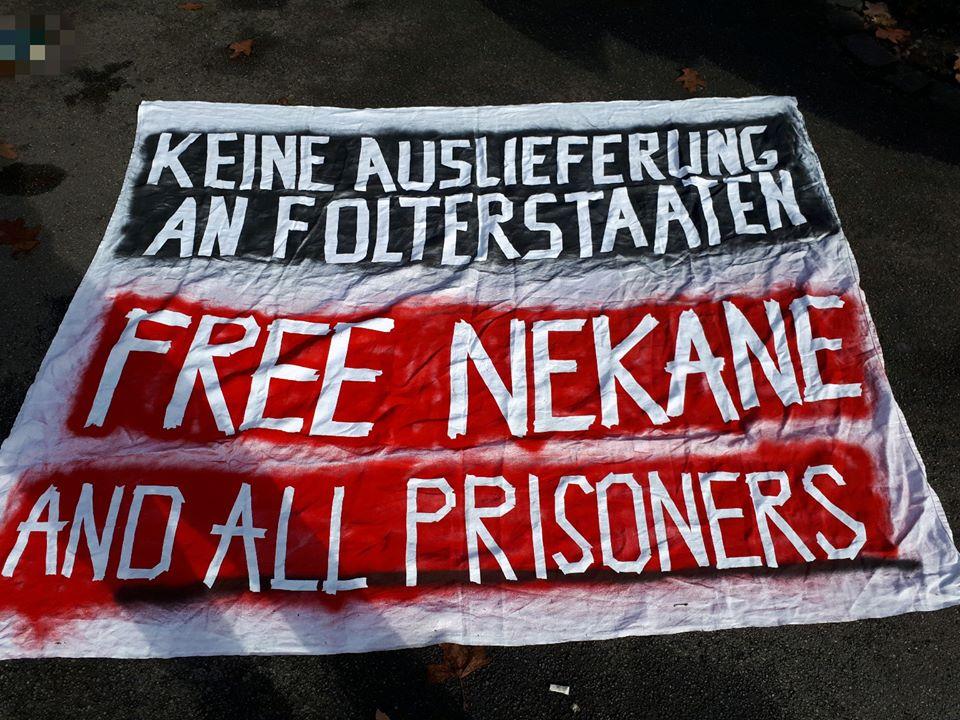 Keine Verhaftung – Nekane bleibt frei!