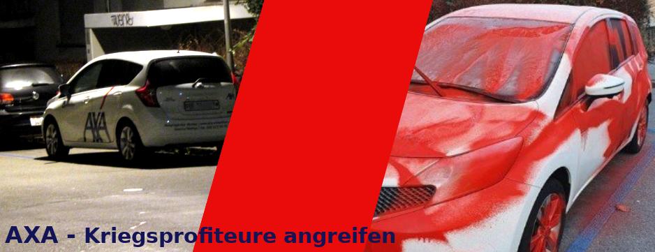 Farbe AXA Winterthur Auto