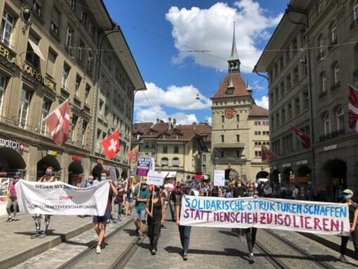 """Aktionstag """"Realitäten aus dem Asylregime sicht- und hörbar machen!"""