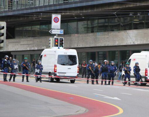 Demonstration Stopp Isolation