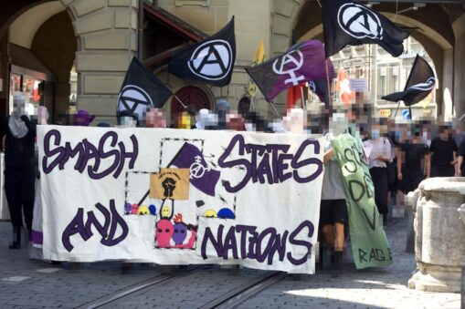 Demonstration Gegen Mythos Schweiz