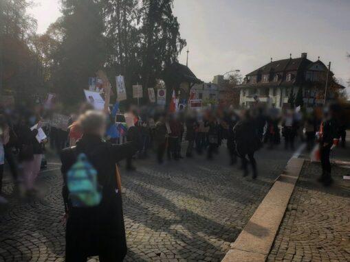 Kundgebung Solidarität Frauen Polen