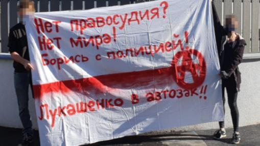 Transpiaktion Botschaft Belarus