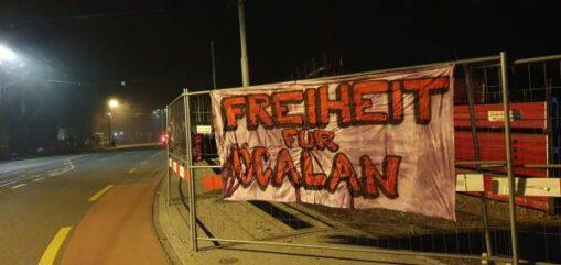 Transpiaktionen Freiheit Öcalan