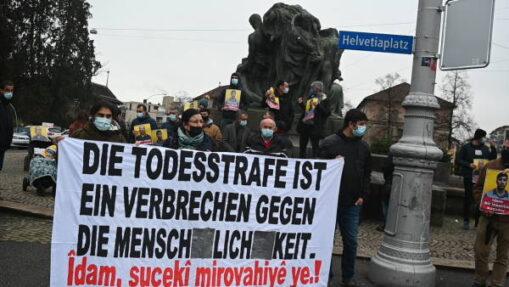 Kundgebung gegen drohende Hinrichtung Südkurdistan