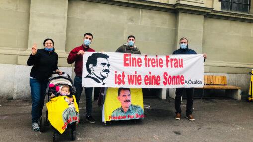 Kundgebung Freiheit für Öcalan
