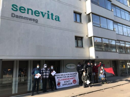 Transpiaktion Entlassung Senevita