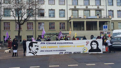 Kundgebung Gedenken Sakine, Fidan und Leyla