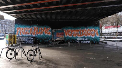 Graffiti Freiräume verteidigen