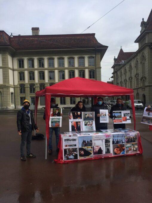 Kundgebung Jahrestag gegen Mullah-Regime