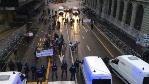 Velodemo Tag gegen Polizeigewalt