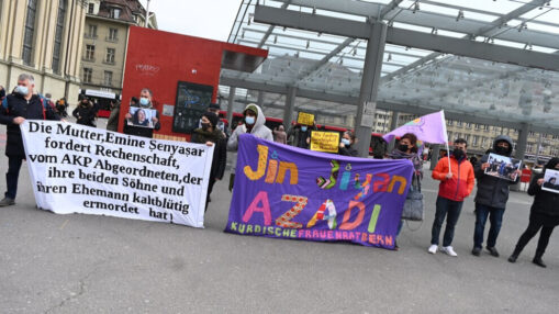 Kundgebung Solidarität Familie Şenyaşar