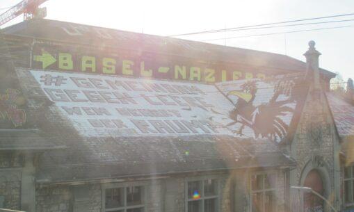 Graffiti Gemeinsam gegen Leere