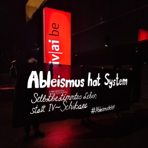 Transpiaktion Ableismus hat System