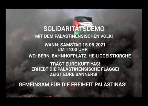 Solidaritätsdemo Palästina (verboten)