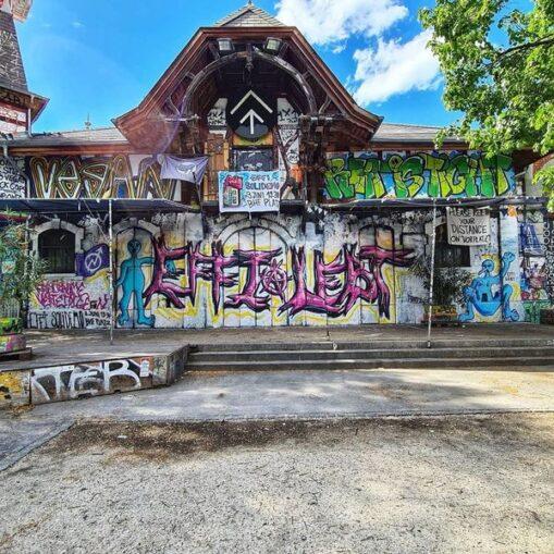 Graffiti effilebt